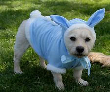 Easter Bunny Blue dog costume jacket shirt FOR X SMALL TO XXLARGE DOGS - New