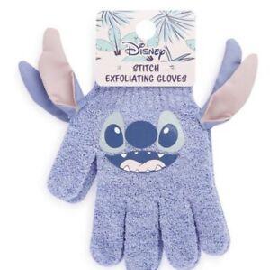 PRIMARK Disney Lilo And Stitch Exfoliating Bath Shower Body Care Gloves