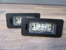 2x LED KENNZEICHENLEUCHTEN + BMW 1er 2er 3er 5er  Kennzeichenbeleuchtung 7193293