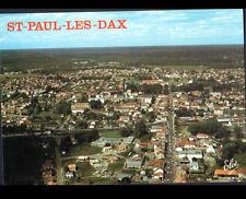 SAINT-PAUL-lés-DAX (40) GARE & MAIRIE en vue aérienne