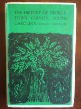 RARE History Georgetown County, South Carolina. HCDJ George Rogers, SC 1970 1st