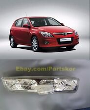 HYUNDAI 2007-2011 i30  i30cw Left Side Mirror LED Signal Lamp Repeater Genuine
