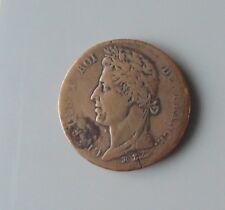 monnaie colonie française 10 cent centimes 1827 H
