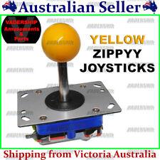 ZIPPYY Joystick – 2-4-8 WAY (Long Stick) (YELLOW) ARCADE or MAME
