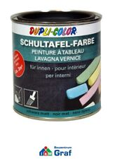 DUPLI-COLOR Schultafel-Farbe schwarz, mit Kreide beschreibbar, 375ml oder 750ml