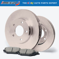OE Replacement 2002 2003 2004 2005 Toyota Celica GT Rotors Ceramic Pads F
