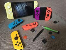 TWO Nintendo Switch Joy-cons Repair/Recondition Service. Eliminate Stickdrift!!!