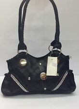 New ladies designer fashion faux leather shoulder tote purse handbag