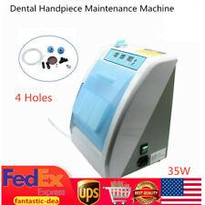 350ML Dental Handpiece Maintenance Oil System Clean Lubricating Lubrication 35W