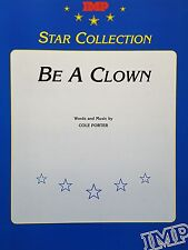 Cole Porter: Be A Clown (Piano/Vocal/Chords Sheet Music) OUT OF PRINT, MINT!