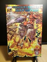 TRANSFORMERS The War Within #1 Variant Comic Dreamwave DF BLUE Foil - no COA