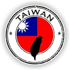Taiwan Sello Sello Pegatina para Coche Camión Portátil Tablet Nevera Puerta