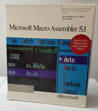 RARITÄT !! - Microsoft Macro Assembler 5.1 - Englisch - inkl. Mwst