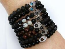 Agate Unbranded Stone Costume Bracelets