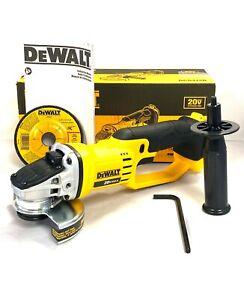 """DeWalt DCG412B 4-1/2"""" 20V Lithium Ion Grinder (Tool Only)"""