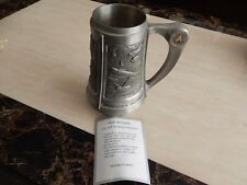 RARE FRANKLIN MINT TANKARD STAR TREK SPOCK THE OFFICIAL 25TH ANNIVERSARY