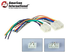 Toyota Plugs Into Factory Radio Car Stereo CD Player Wiring Harness Wire Install