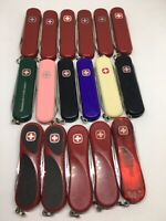 SWISS ARMY KNIFE Wenger Esquire 65mm different colors rare