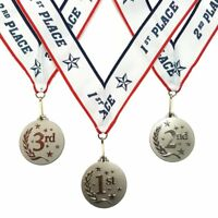 Incl 3 Piece Set 1st 2nd 3rd Place Victory Award Medals Gold, Silver, Bronze