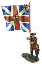 FD-102A - Cloth Flag - 54mm - British 6th Regt - Kings Colors - AWI