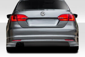 11-14 Volkswagen Jetta Vortex Look Duraflex Rear Bumper Lip Body Kit!!! 113723