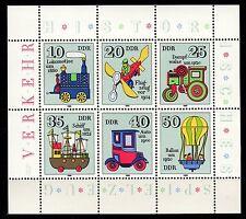 Germany / DDR - 1980 Antique toys - Mi. 2566-71 KB MNH