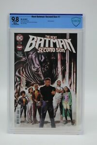 Next Batman Second Son (2021) #1 Braithwaite Cover A CBCS 9.8 Blue Lbl White Pgs