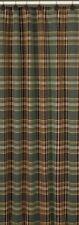 Lodge Wood River Shower Curtain Green, Brown, Tan 72x72 Cotton