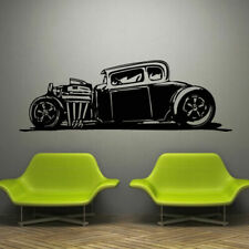 Wall Decal Sticker Vinyl Cars Old Rarity Retro Road Auto Bedroom M875