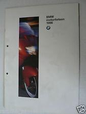 FN623A BROCHURE BMW ALL MODELS 1996 DUTCH 48 PAGES,FUNDURO,F650,K1100,R1100,R850