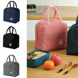 Lunch Bag Insulated Cool Thermal Food Storage Box Carry Tote For Adults Kids SY