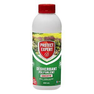 Désherbant 800mL Professionnel herbicide pour mauvaise herbe et jardin extérieur