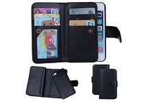 Apple Iphone 5 / 5s / Se Purse wallet / with detachable phone holder / Uk seller