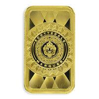 1oz .9999 Gold Bar Scottsdale Marquee in Certi-Lock #A453