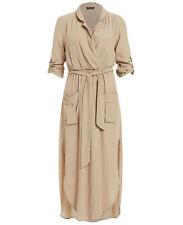 BARDOT Women's 'Elle' Shirt Dress in Beige NEW! Size 6, RRP $149.95
