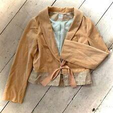NoaNoa Silk Velvet Beautiful Blazer Size Small