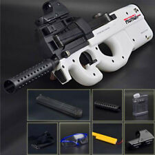 CS Game Toy Electronic Gun White Air P90 Submachine Gift Boy Soft Water Bullets