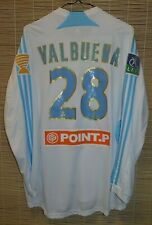 Olympique Marseille FRANCE home 2007 2008 football shirt jersey #28 VALBUENA