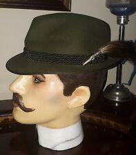 Mens Vintage German hunting trilby . Size 56