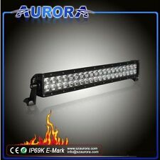 "Aurora 20"" 120W OSRAM LED Light Bar Offroad Driving Combo Flood Spot ALO-P4E4B"
