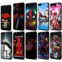 Deadpool Soft TPU Case for iPhone XS Max X 8 7 6 6S Plus