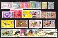 Mauritius  -. Lotto da 24  Francobolli (Stamps) - perfetti
