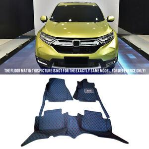Fit for Honda CR-V CRV 2017-2020 Leather Car Foot Floor Mats Carpets Full Set