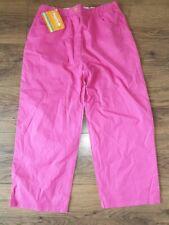 """Ex Regatta Girls Womens Capri Walking Trousers Dark Cerise 28"""" waist NEW SALE"""