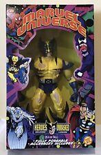"Marvel Universe 10""/ 25.4 Cm action Figure UNMASKED WOLVERINE -1998"