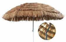 Hawaii Strandschirm Ø 165cm - knickbar - Sonnenschirm Gartenschirm Balkonschirm