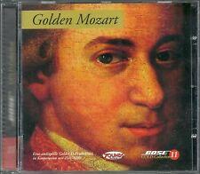 Mozart, Wolfgang Amadeus Golden Mozart 24 Karat Bose Zounds Gold CD OOP