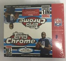 2006 Topps Chrome Factory Sealed Football Box 24 Pack