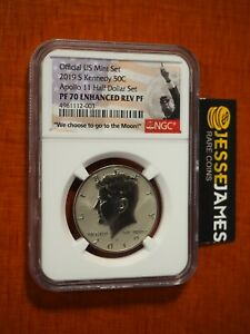 2019 S ENHANCED REVERSE PROOF KENNEDY HALF DOLLAR NGC PF70