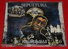Sepultura Ratamahatta CD Rare EP BOB MARLEY 4 TRK 2 Demo Cuts Out Of Print